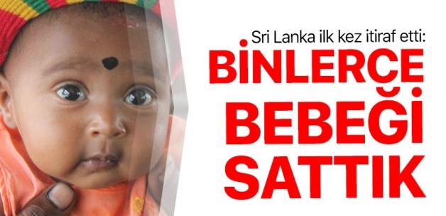Sri Lanka'dan itiraf: Binlerce bebeği sattık