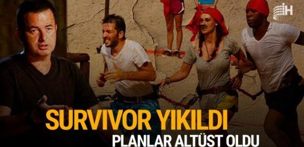 Survivor yıkıldı, planlar altüst oldu