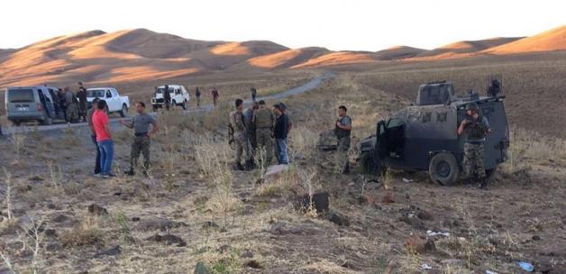 Zırhlı polis aracı takla attı: 1 şehit, 3 yaralı