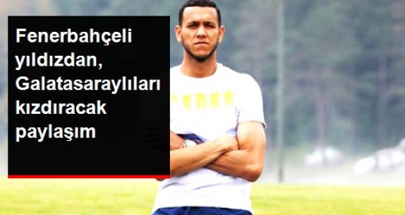 Fenerbahçeli Josef de Souza, Sosyal Medyadan Galatasaray'a Attığı Golü Paylaştı