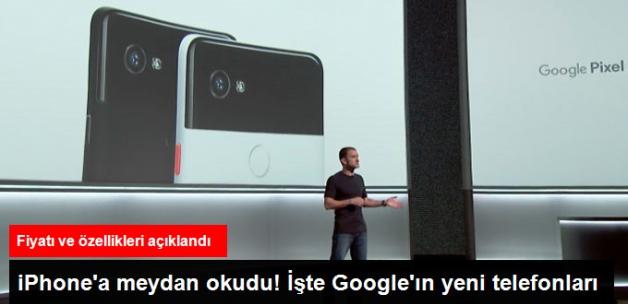 Google, Yeni Telefonları Pixel 2 ve Pixel 2 XL'i Tanıttı! İşte Fiyatı ve Özellikleri
