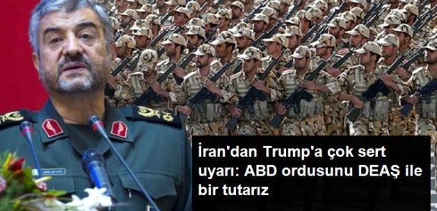 İran Devrim Muhafızları Komutanı Uyardı: ABD Ordusunu DEAŞ ile Bir Tutarız