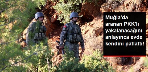 Muğla'da Kaçan 2 Teröristten Biri, Kıstırıldığı Evde Kendini Patlattı