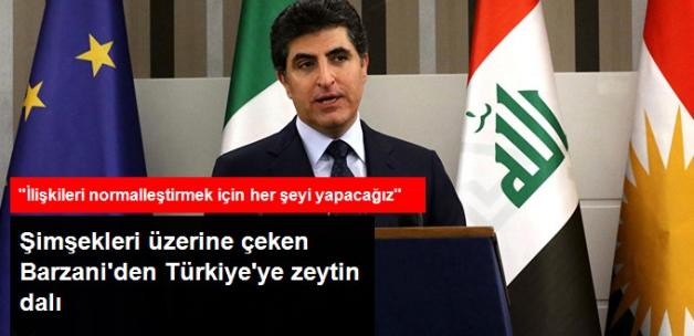 Neçirvan Barzani'den Zeytin Dalı: Türkiye ile Normalleşmek İçin Her Şeyi Yapacağız
