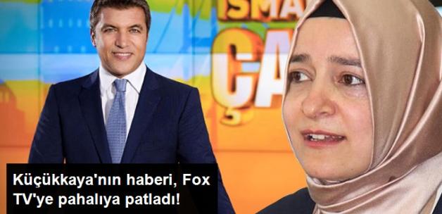 RTÜK'ten Gazeteci Küçükkaya'nın Haberi Nedeniyle Fox TV'ye Ceza