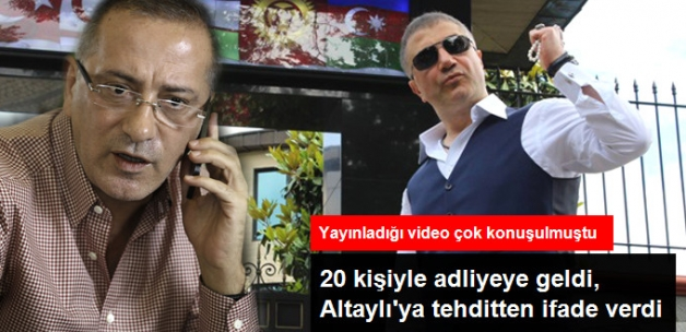 Sedat Peker, Fatih Altaylı'yı Tehdit Ettiği Gerekçesiyle İfade Verdi
