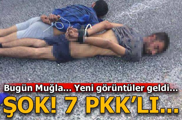 Seydikemer'de PKK operasyonu! Böyle yakalandılar...