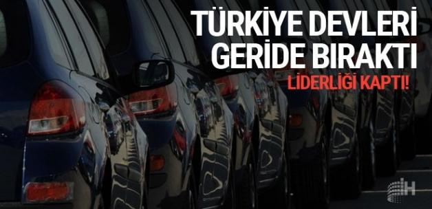 """Türkiye, """"AB""""ye motorlu taşıt ihracatında ilk sırada"""