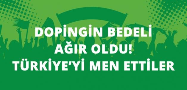 Uluslararası Halter Federasyonu'ndan Türkiye'ye 1 Yıl Men
