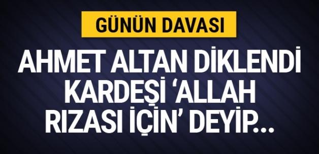 Ahmet Altan diklendi Mehmet Altan 'allah rızası için' deyip...