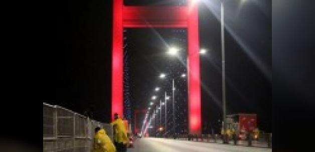Dikkat! 15 Temmuz Şehitler Köprüsü trafiğe kapalı....