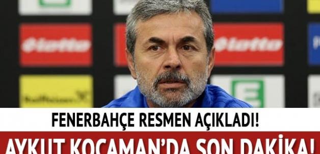 Fenerbahçe Aykut Kocaman'la devam dedi!