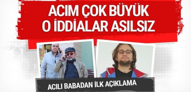 İntihar eden oyuncu Cem Korkmaz'ın babası Muhittin Korkmaz'dan açıklama