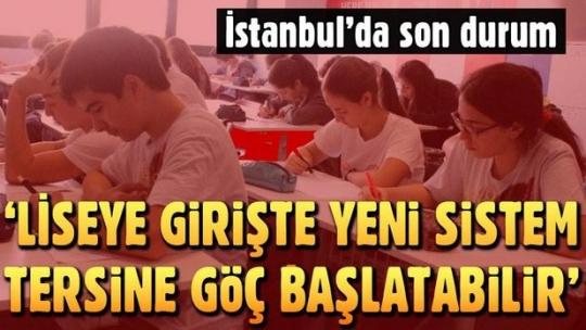Liseye giriş sistemi İstanbul'un nüfus hareketliliğini tersine çevirebilir'