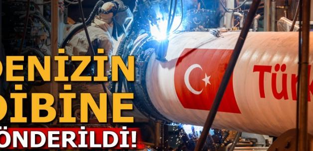 Türk Akımı Türkiye'nin Münhasır Ekonomik Bölgesi'ne girdi