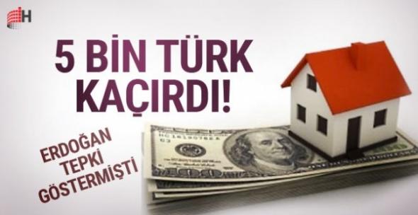 5 bin Türk varlıklarını yurtdışına kaçırdı! 20 milyar dolar...