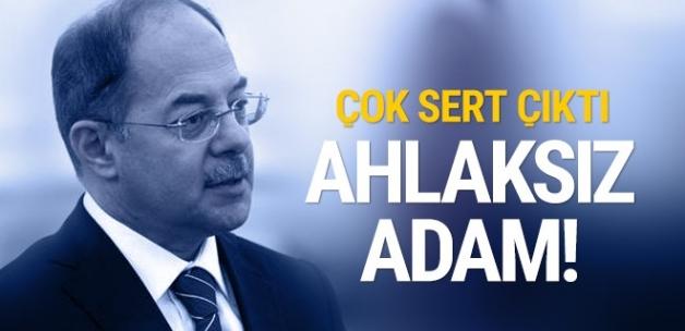 Akdağ'dan CHP'li Aldan'a sert tepki! Ahlaksız adam