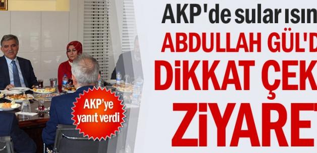 AKP'de sular ısınıyor