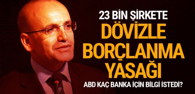 Mehmet Şimşek'ten bankalarla ilgili flaş açıklama
