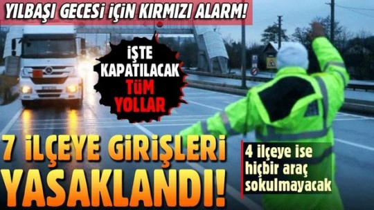 Son dakika... İstanbul'da yılbaşı için Emniyet'ten olağanüstü önlem