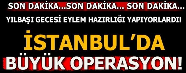 Son dakika...İstanbul'da terör örgütü DEAŞ'a operasyon: Çok sayıda gözaltı var