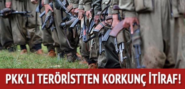 Teröristlerde moraller bozuk