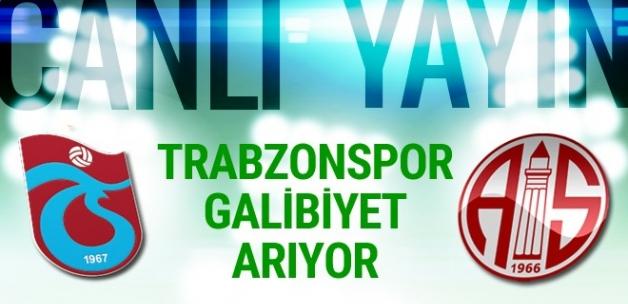Trabzonspor Antalyaspor maçı