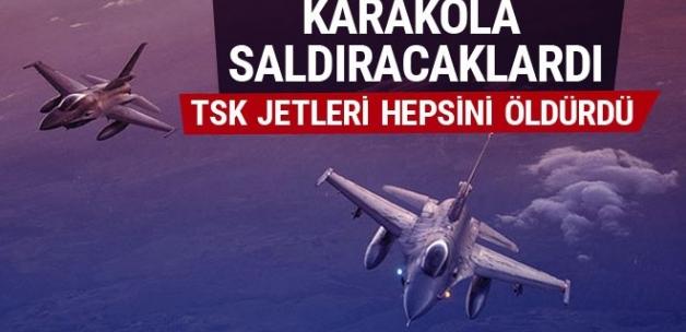 TSK: 9 terörist etkisiz hale getirildi