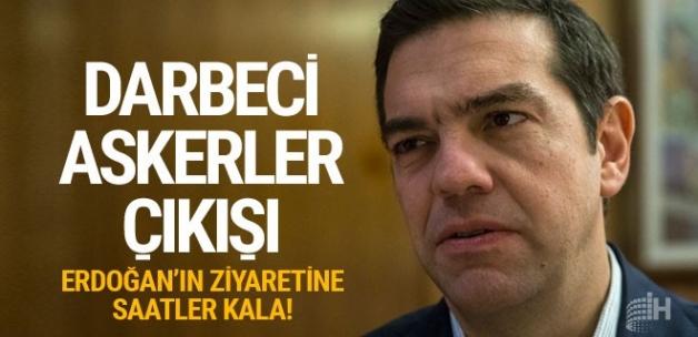 Yunanistan Başbakanı Çipras'tan flaş 'darbeci askerler' çıkışı