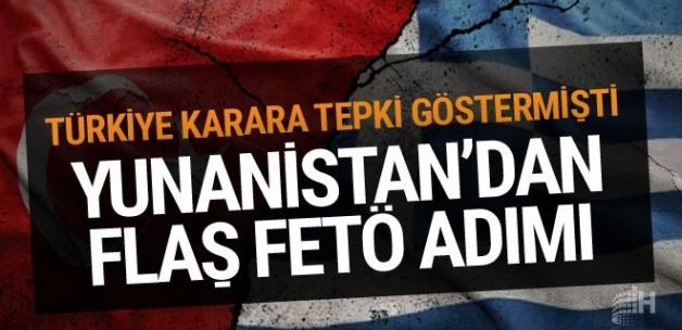 Yunanistan'dan serbest kalan darbeci ile ilgili yeni adım