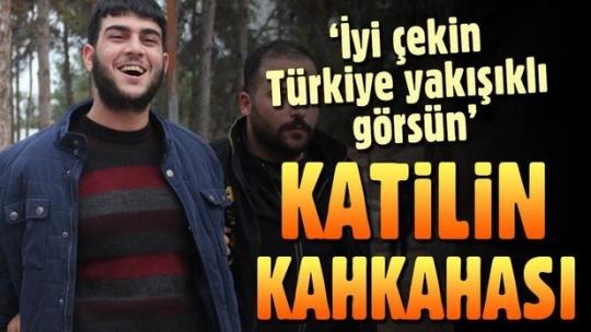 Adana'da yakalanan katil kahkaha attı