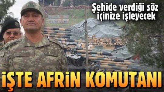 Afrin'e harekat planı hazır: Afrin harekatını Korgeneral İsmail Metin Temel yönetecek