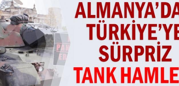 Almanya'dan Türkiye'ye sürpriz tank hamlesi