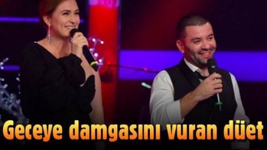 Ceyda Düvenci ve eşi Bülent Şakrak'ın romantik düeti O Ses Türkiye'ye damgasını vurdu