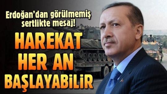 Cumhurbaşkanı Erdoğan'dan Amerika'ya sert terör mesaj: Boğacağız