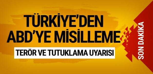 Dışişleri'nden ABD'ye Seyahat Edecek Olan Türklere Uyarı: Terör Olayları ve Keyfi Tutuklamalar Arttı