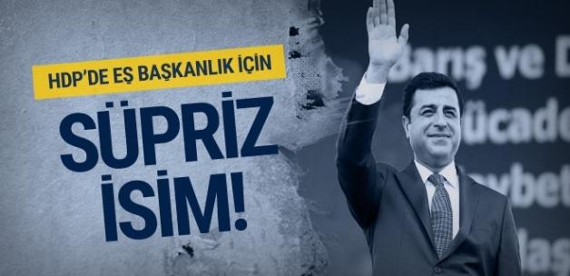 HDP'de Eş Başkanlık için konuşulan sürpriz isim!