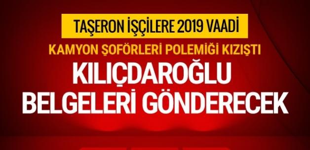 Kemal Kılıçdaroğlu o belgeleri Başbakan Yıldırım'a gönderecek