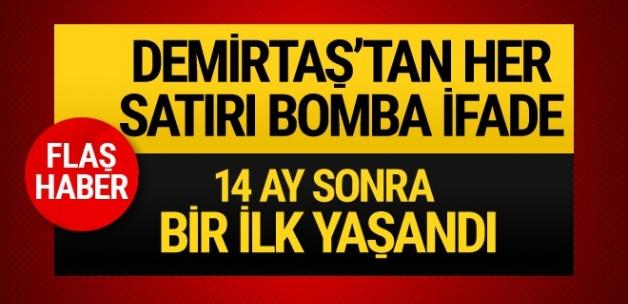 Selahattin Demirtaş'tan her satırı bomba ifade ilk kez mahkemede