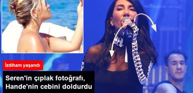 Seren Polemiği, Hande Yener'e Yaradı! 2 Bin 800 Kişilik Salona, 4 Bin Kişi Geldi