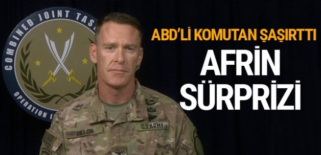 Türkiye'nin olası Afrin operasyonuna ABD'den bomba açıklama