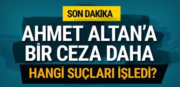 Ahmet Altan'a bir cezası daha! Neden verildi?..