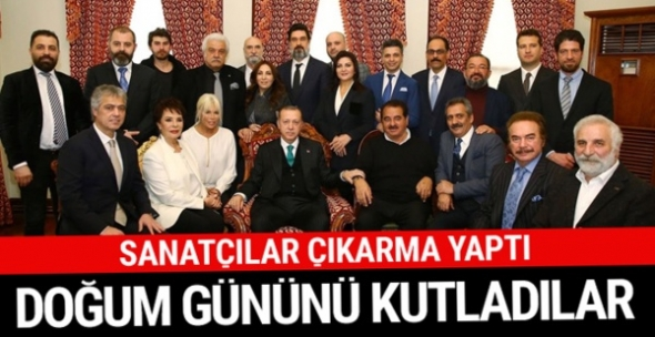 Cumhurbaşkanı Erdoğan'a sürpriz ziyaret!