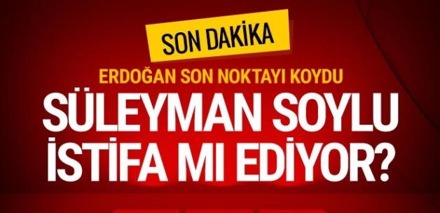 Erdoğan'dan çarpıcı açıklamalar... Süleyman Soylu istifa mı ediyor?..