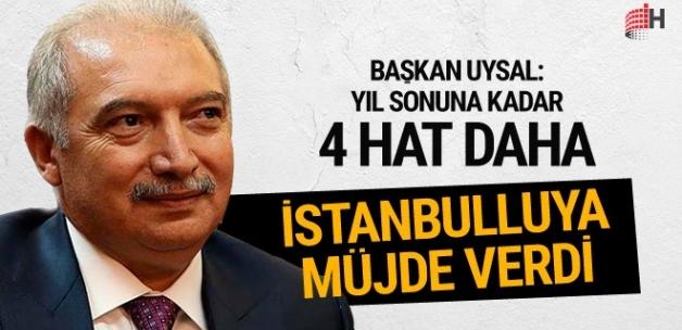 İstanbul'da 4 metro hattı yıl sonuna kadar hizmete girecek