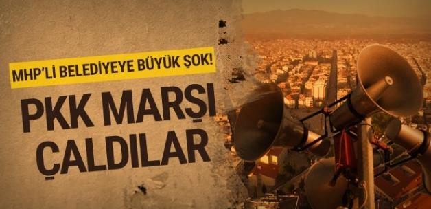 MHP'li belediyeye şok! Hoparlörden PKK marşı dinlettiler