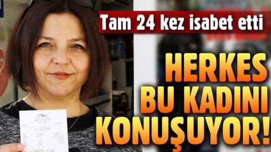 14 milyon liralık kupon, 'şanslı ilçe' Muratpaşa'da yatırıldı