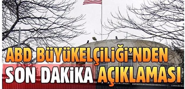 ABD'nin Ankara Büyükelçiliği sözcüsünden yeni açıklama