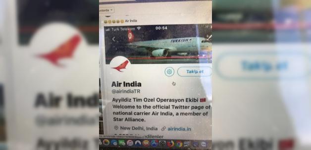Air İndia Hindistan Hava yollarında :THY ile uçun Mesajı,  Hindistan da şok etkisi Yarattı!!!