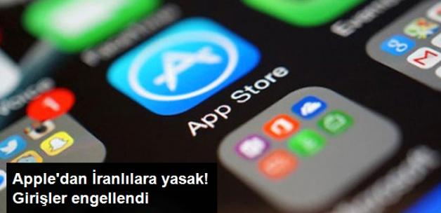 Apple, İranlıların Appstore'a Girişini Engelledi